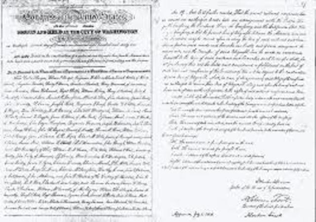 Pacific Railway Act (Document)
