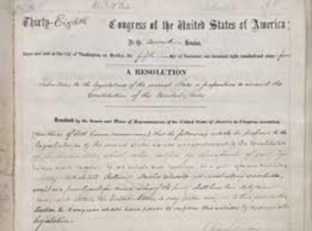 13th Amendment (Slavery)