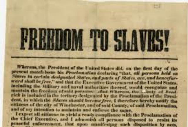 Emancipation Proclamation (Slavery)
