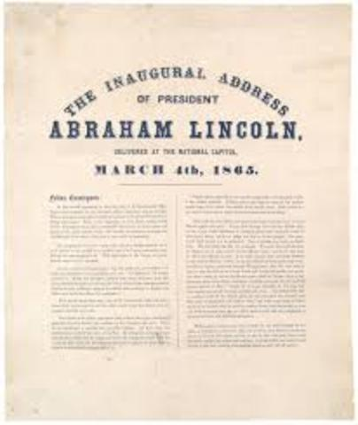 Second Lincoln Inaugural (Political)