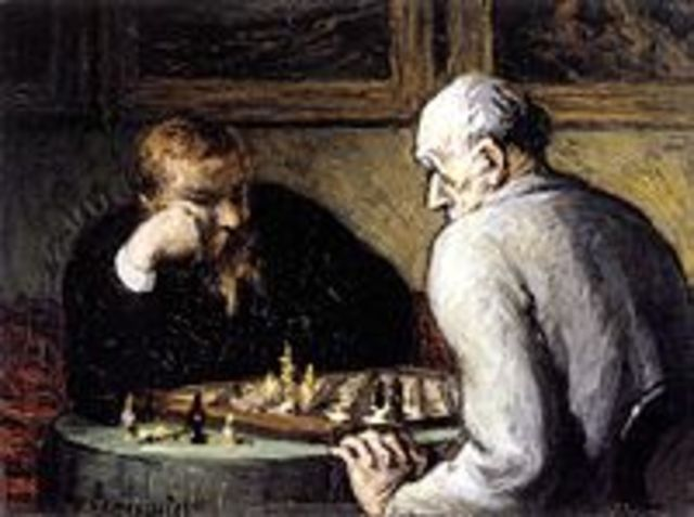 Honoré-Victorin Daumier (French February 26, 1808 – February 10, 1879) was a French printmaker, caricaturist, painter, and sculptor,