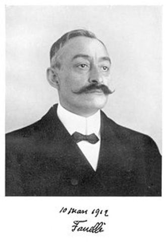 Ernest Fanelli (1860–1917) was a French composer of Italian descent who is best known for sparking a controversy about the origins of Impressionist music when his composition Tableaux Symphoniques was first performed in 1912.