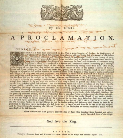 The Royal Proclamation (Part 1)