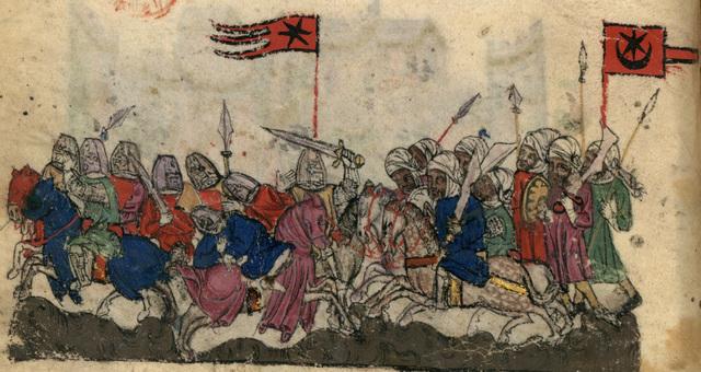 Khalid al-Walid defeats the Romans
