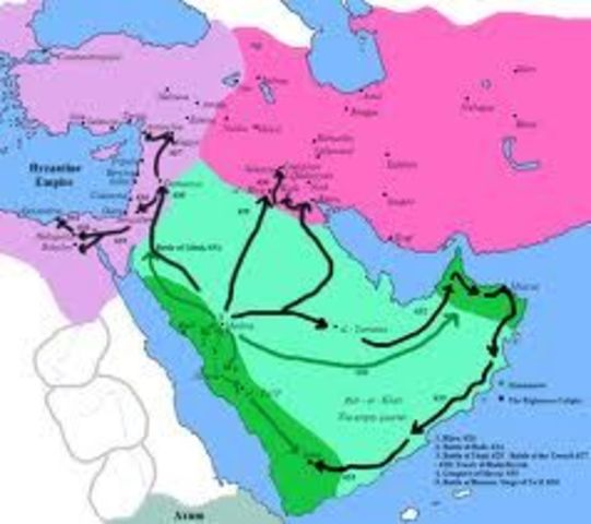 Umar's reign based on expansion
