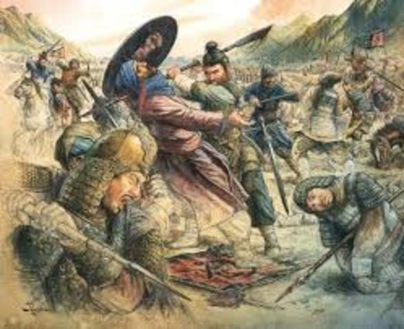 The Battle of Talas