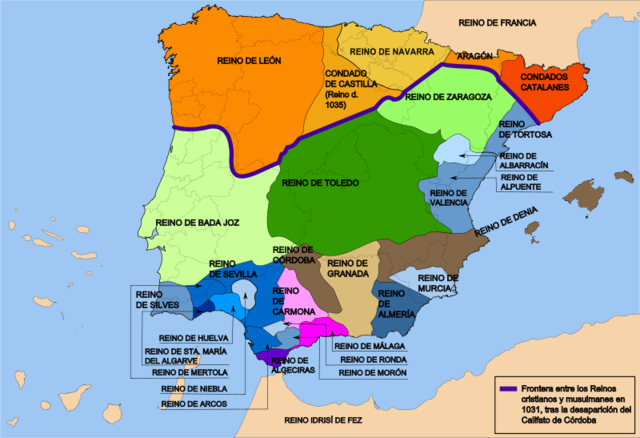 Collapse of the Muslims in Spain