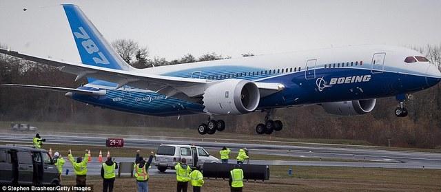 Primer Vuelo De Prueba Boeing 787.