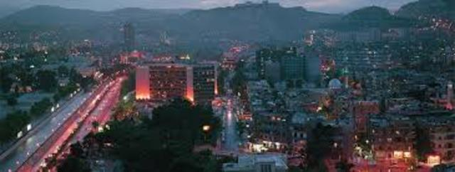 Damascus becomes the new capital