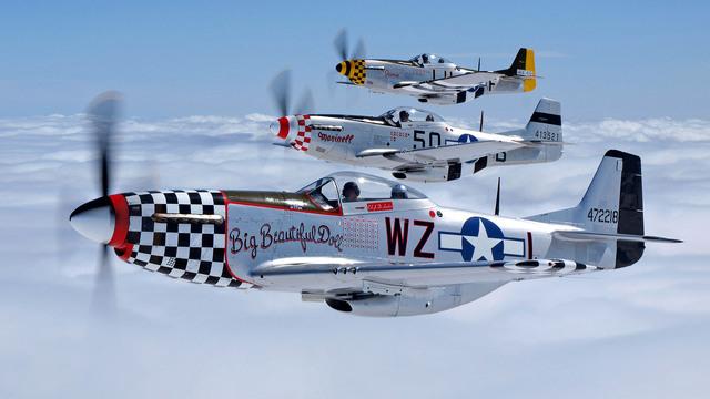 Primer Vuelo Del North American P-51 Mustang, El Primer Caza De Larga Distancia