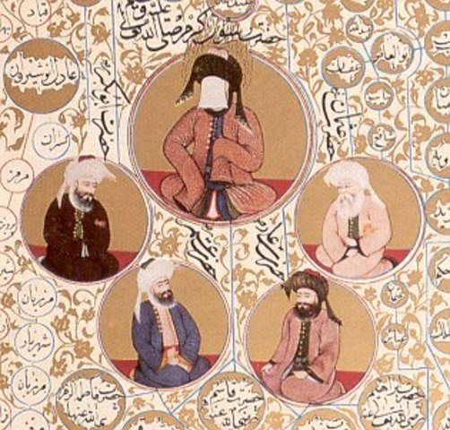 The Timeline Of the 4 Rightly Guided Caliphs
