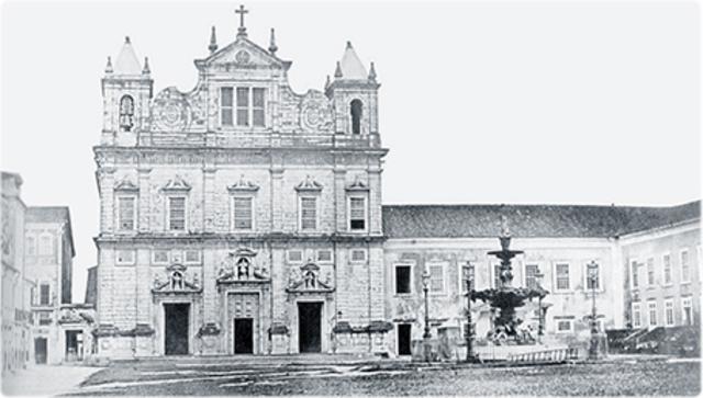 Foi criada a primeira universidade brasileira