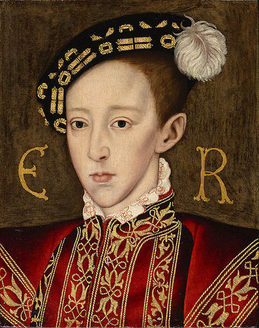 Edward VI was born to Henry VIII & Jane Seymour