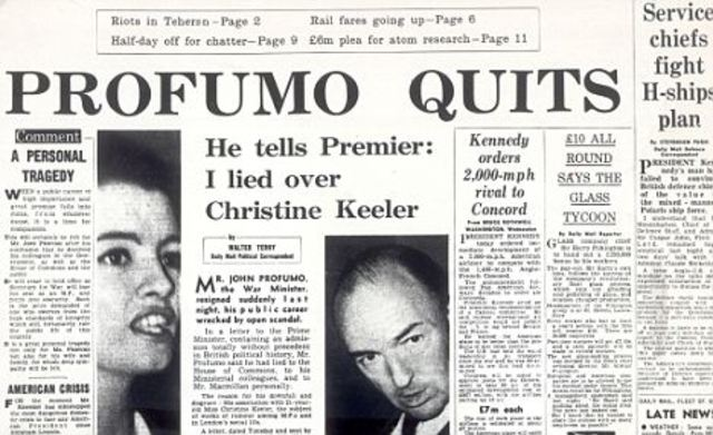 The Profumo Scandal