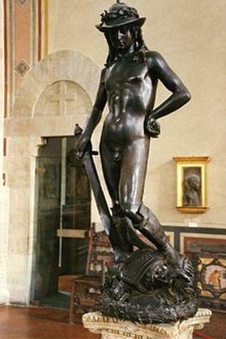 David (bronze statue) by Donatello