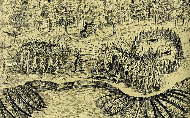 Power Relations between French and Amerindians