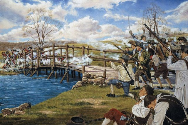 How The Battle at Lexington and Concord contributed to the Americans winning the war