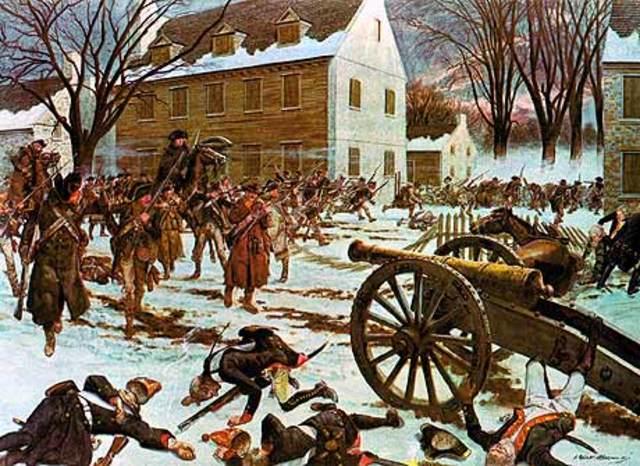 Battle of Trenton's contribution to America winning the war