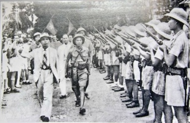 Ho Chi Minh Creates Provisional Government
