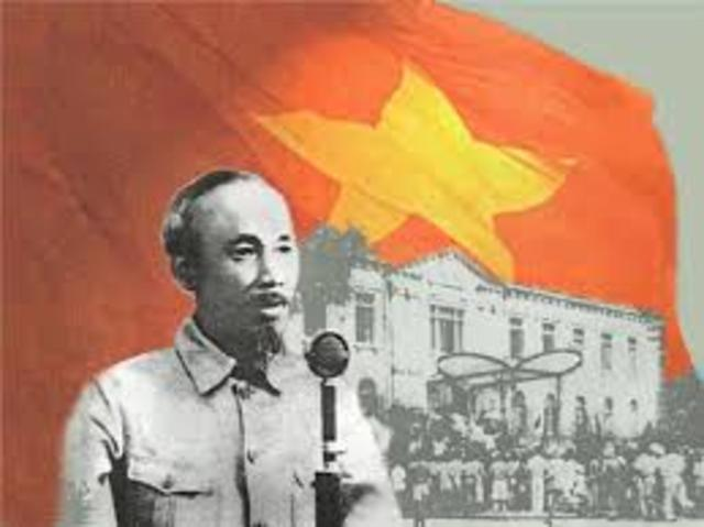 Ho Chi Minh Declares the Independence of Vietnam from France