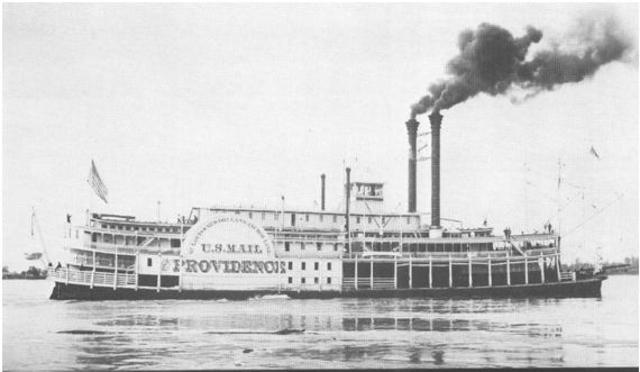 Primer Vaixell De Vapor