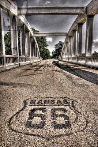 Route 66 constructed