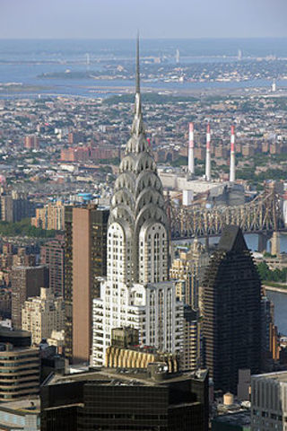 Chrysler Building Constructed