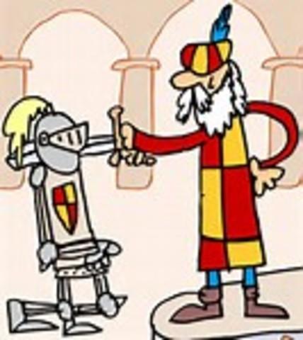 Don Quijote es nombrado caballero