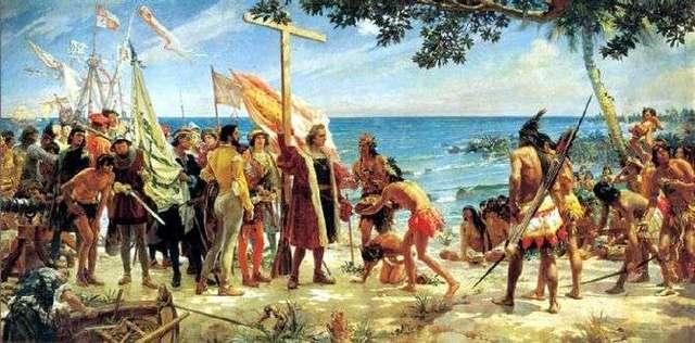 Descubrimiento de Amércia por Cristóbal Colón