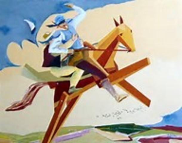 Viajando en el Caballo Clavileño