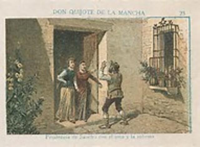 Don Quijote y los libros quemados