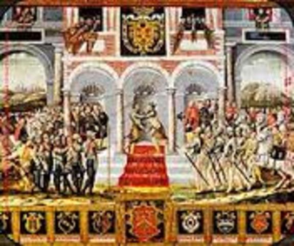 Tratado de Paz de Cateau-Cambresis con Francia