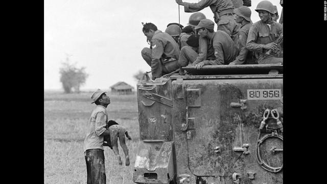 North Vietnamese Army Attacks South Vietnam