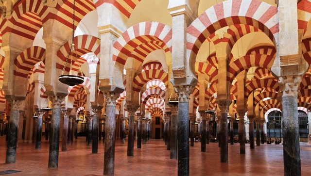 Construction of the great Mosque of Cordoba