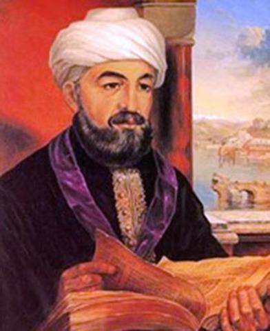 Death of Maimonides