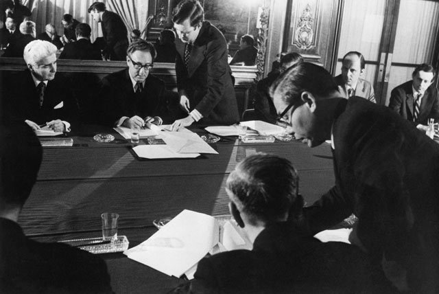 Paris Peace Accords Officially Signed