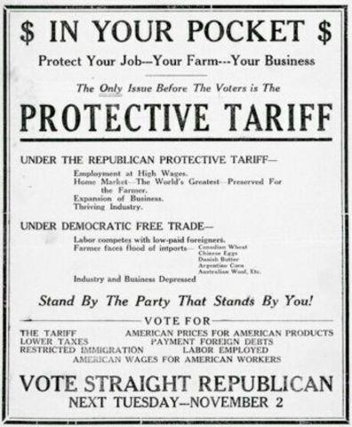 Morill Tariff Act
