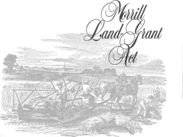 Morrill Land Grant