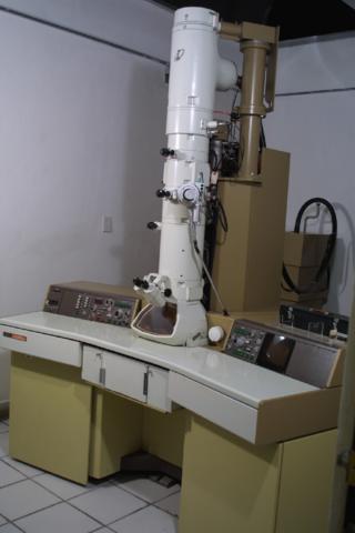 Primer microssopi electric