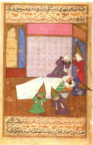 Death of prophet muhammed