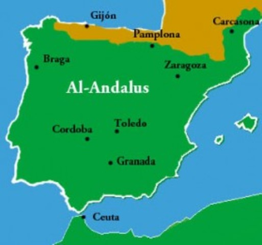 Muslim Empire : Spain