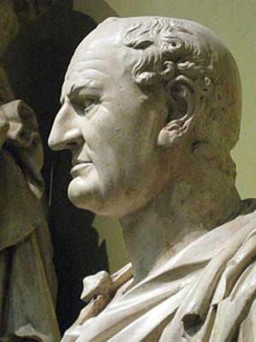 Vespasiano 69 d.C hasta el 79d.C (Dinastía Flaviana)