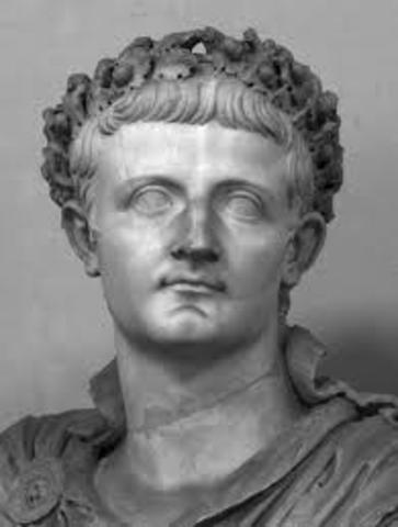 Tiberio 14 al 37 d.C