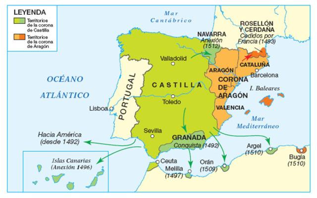 Unión de las Coronas de Castilla y Aragón