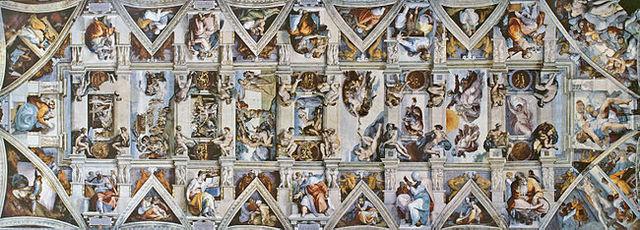 Michelangelo Paints the Sistine Chapel