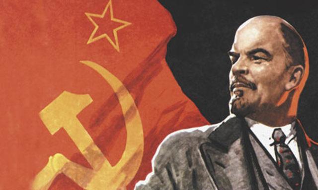 A Nagy Lenin kirobbantja a Nagy Októberi Forradalmat