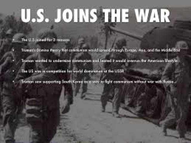 The US joins the Korean War
