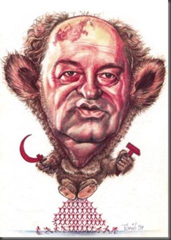 Az imperialista ügynök Gorbacsov felbukkanása