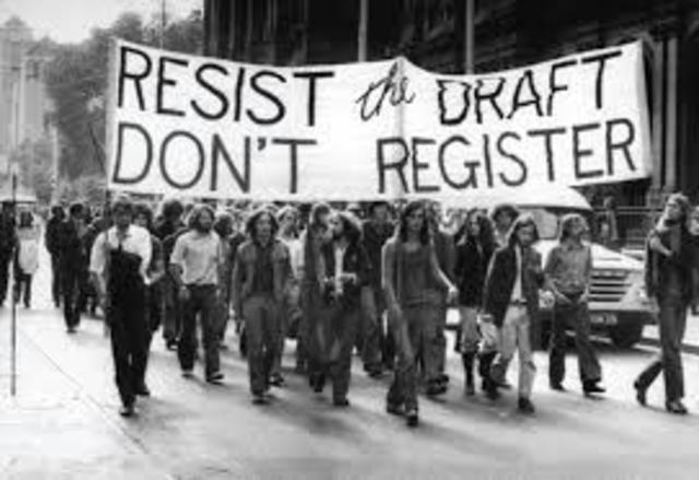 Anti-Draft Protests