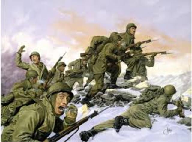 Korea- First infantry